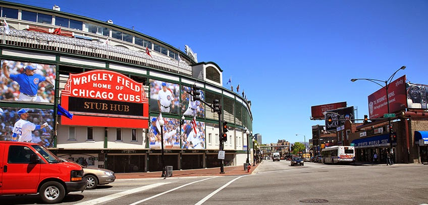 Wrigley Field Chicago Wrigleyville neighborhood