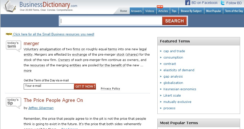 dictionary on line free: