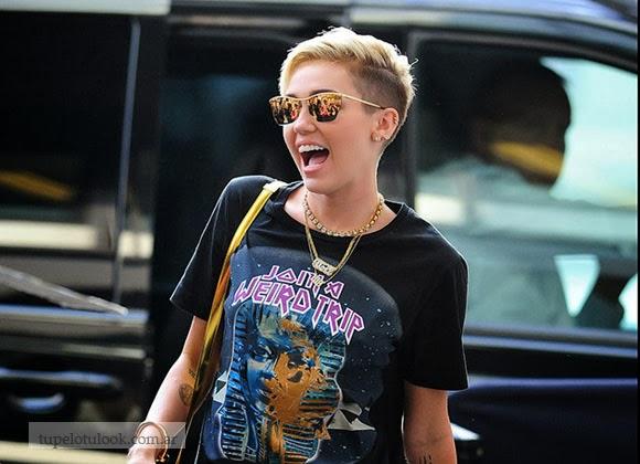 corte de pelo 2014-Miley Cyrus