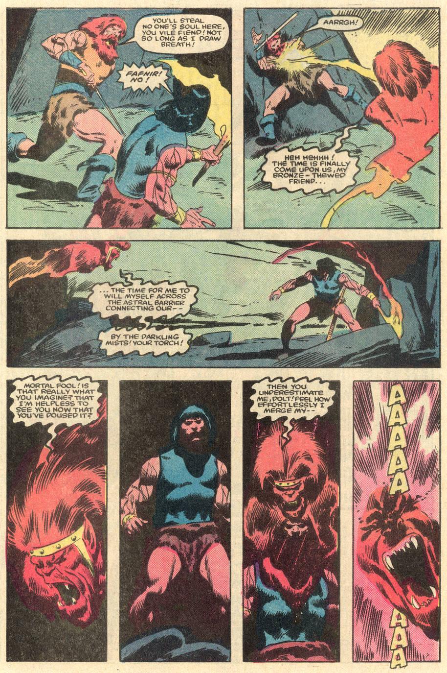 Conan the Barbarian (1970) Issue #162 #174 - English 21
