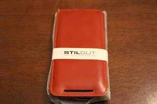 Foto 2 cover HTC One M9 StilGut in pelle cognac