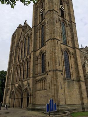 Chuck and Lori's Travel Blog - Ripon Cathedral