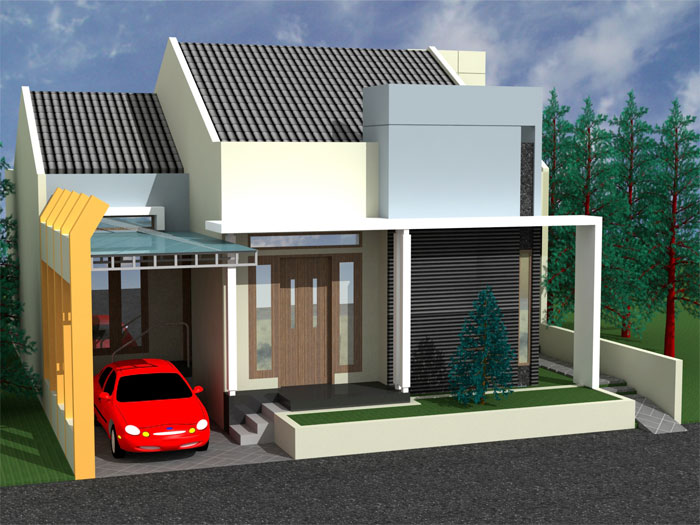 Rumah Minimalis   Gambar Desain Rumah Minimalis