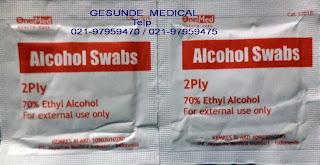 Alkohol Pad Lembaran