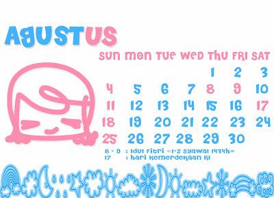 Kalender 2015 Desain Hello Kitty Indonesia | New Calendar Template ...