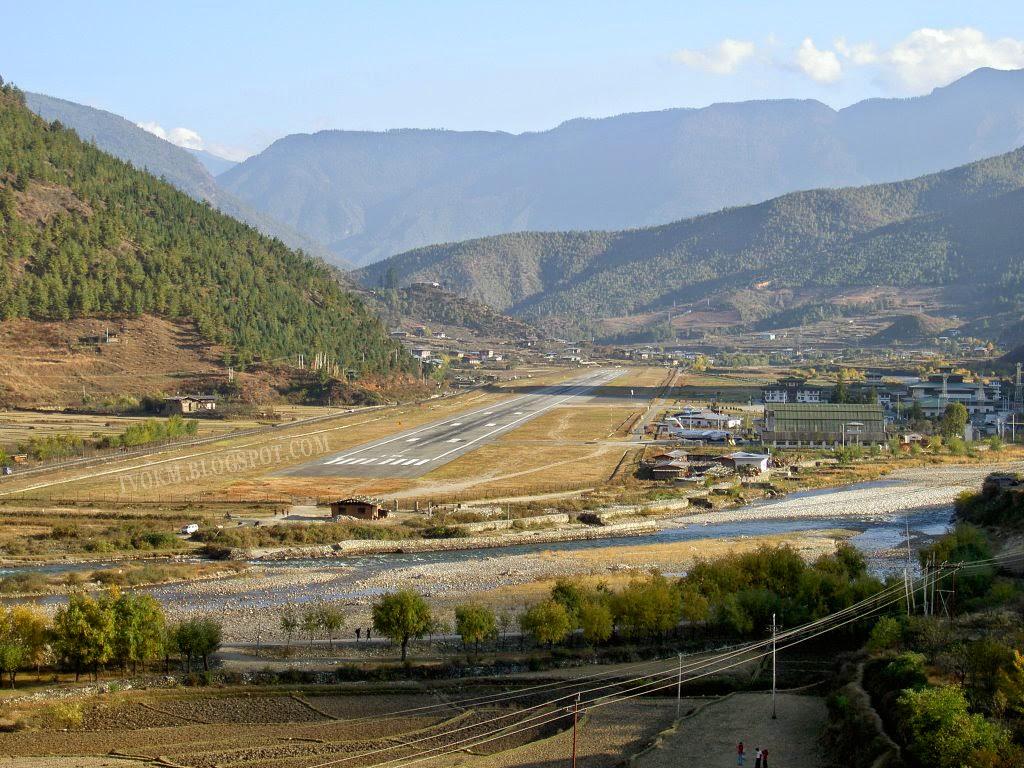 The Airport Paro, Bhutan