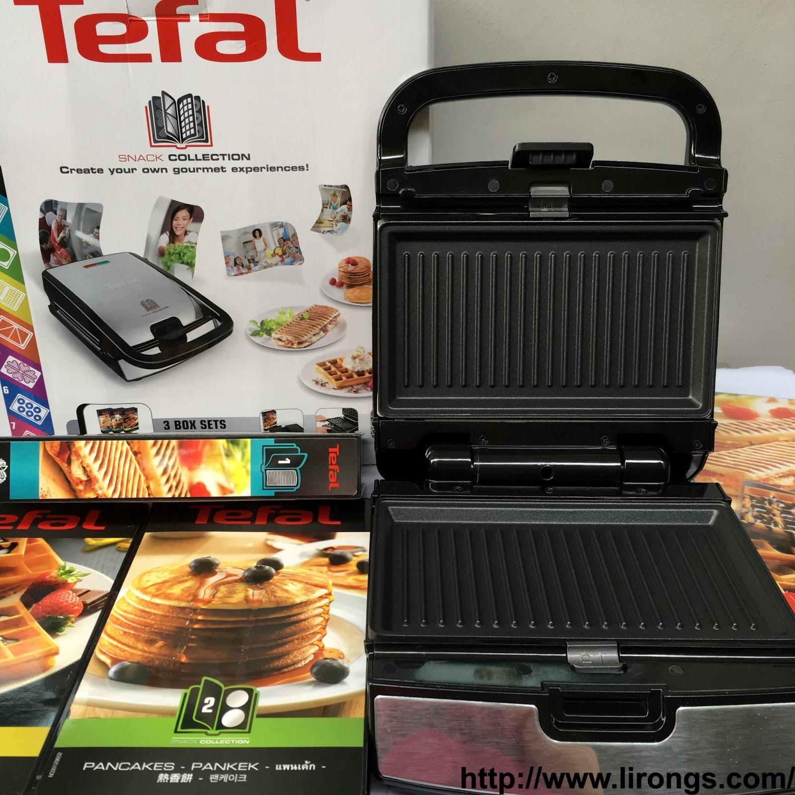 Lirong a singapore food and lifestyle blog review tefal snack collection recipes - Plaque tefal snack collection ...