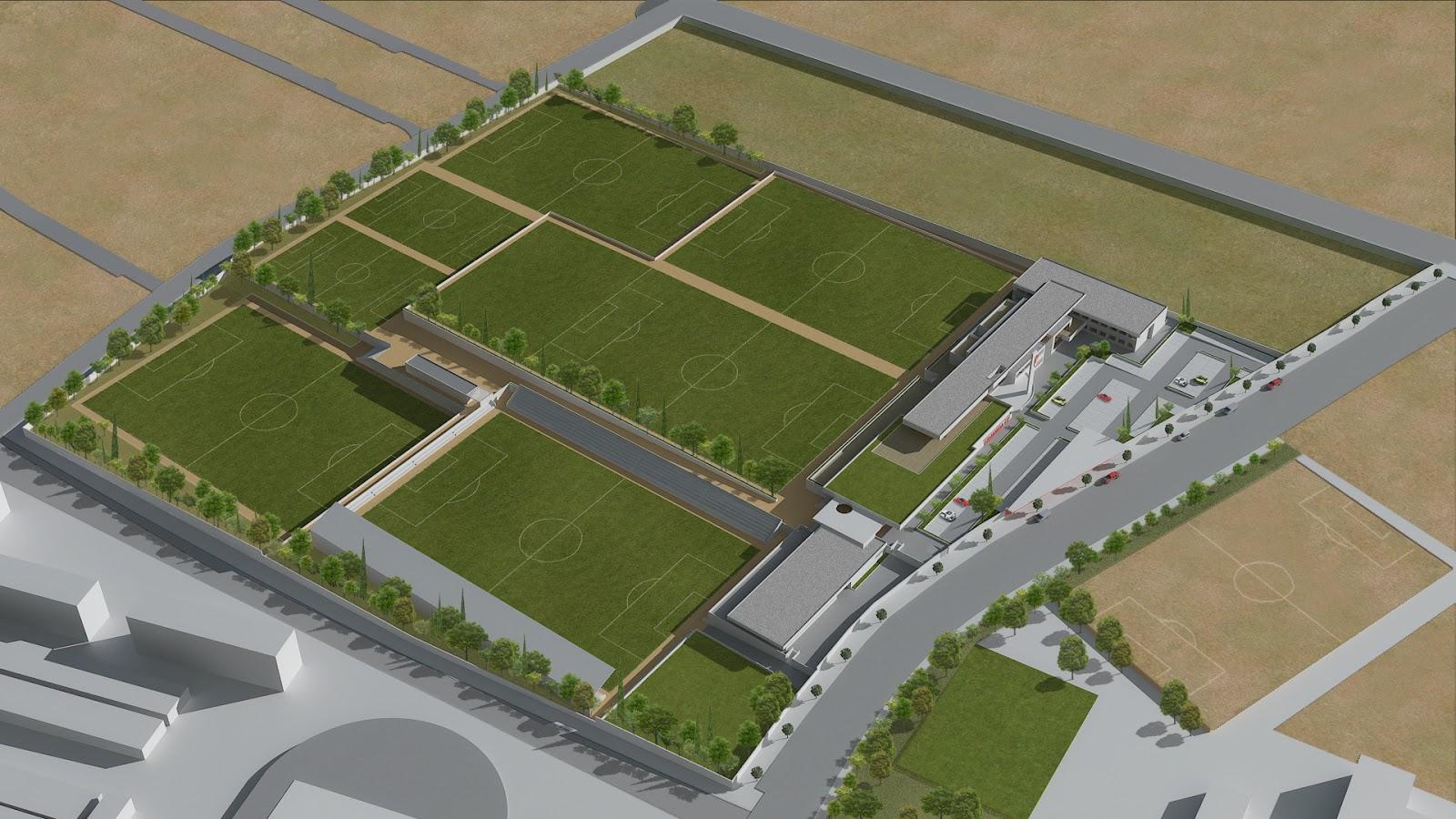 Granada c f 1931 luz verde a la nueva ciudad deportiva for Puerta 8 ciudad deportiva