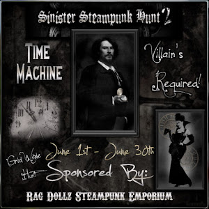 Sinister Steampunk II Hunt Sign