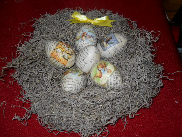 Easter Egg Nests Recipes — Dishmaps