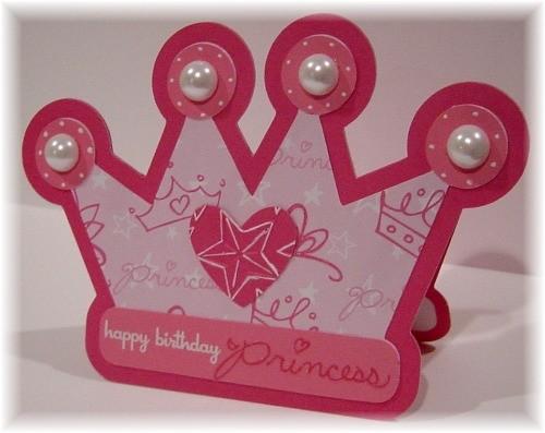 Simply Elegant Paper Crafts Happy Birthday Princess