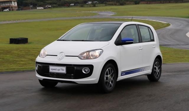 Volkswagen up! TSI Turbo 2016 - dados de desempenho