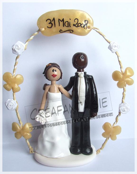 mariages figurines mixtes galerie - Figurine Mariage Mixte