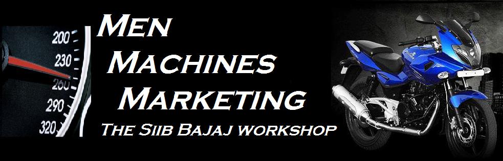 Men Machines Marketing (The SIIB Bajaj Workshop)