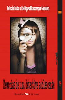 """Portada de """"Memorias de una detective adolescente"""""""