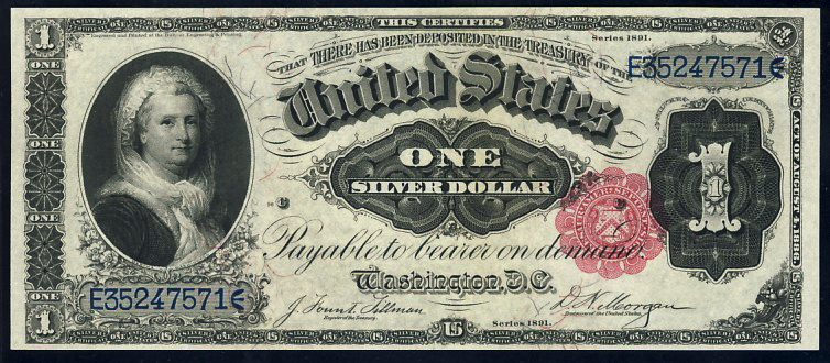 Some Interesting Facts About Paper Money Non George U S