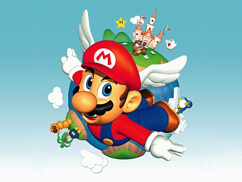 Super Mario HD & Widescreen Wallpaper 0.950599234585665