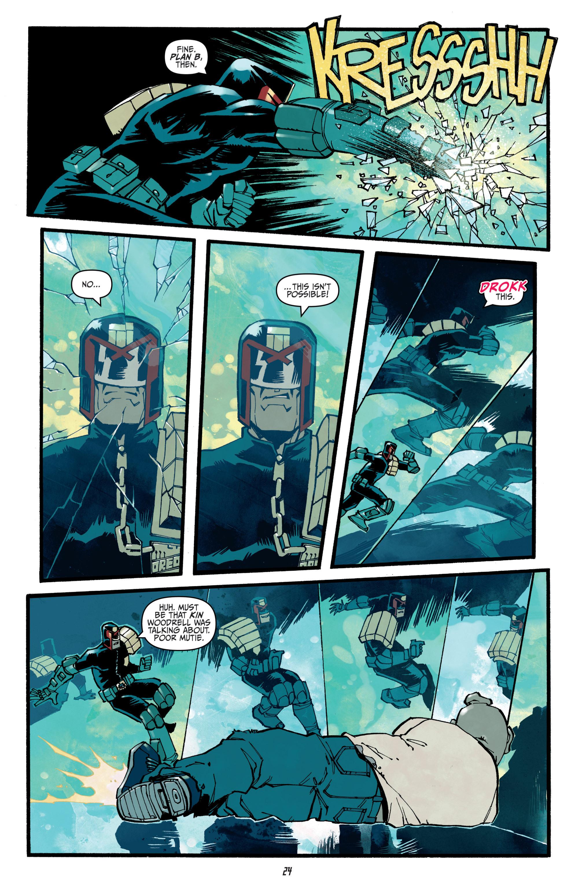 Read online Judge Dredd (2012) comic -  Issue # _TPB 3 - 24