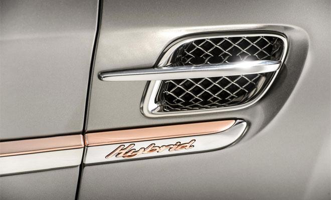 Bentley hybrid badge