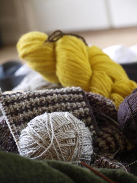 Strikkekits og økologiske strikkepinde - lige straks i min webshop