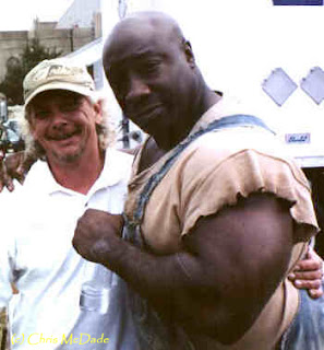 Michael Clarke Duncan Huge Biceps