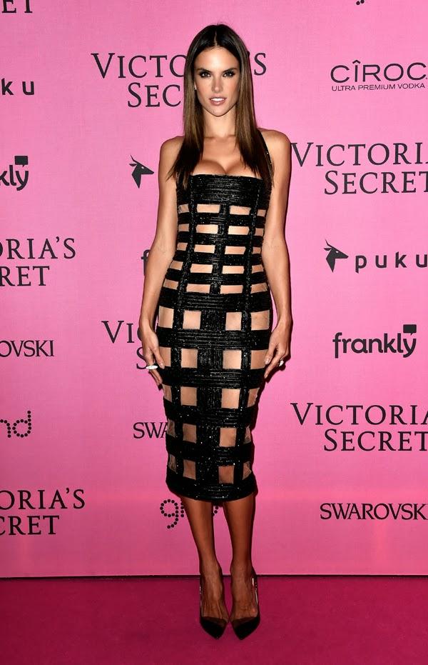 Alessandra Ambrosia la petrecera de lansare din Londra