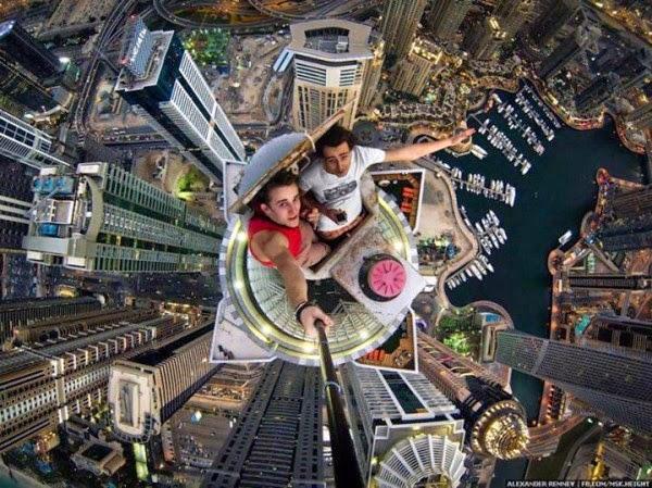 Foto Selfie Paling Bikin Kaki Gemeteran