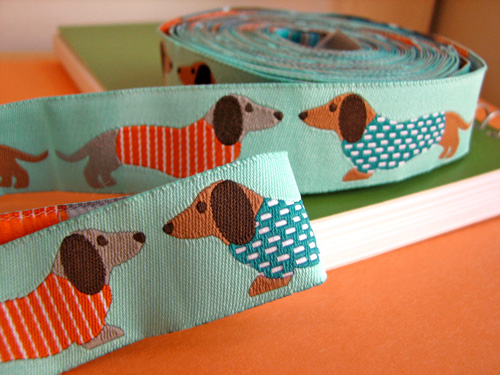 Dachshund ribbon