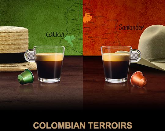 NESPRESSO COLOMBIAN TERROIRS CAUCA Y SANTANDER