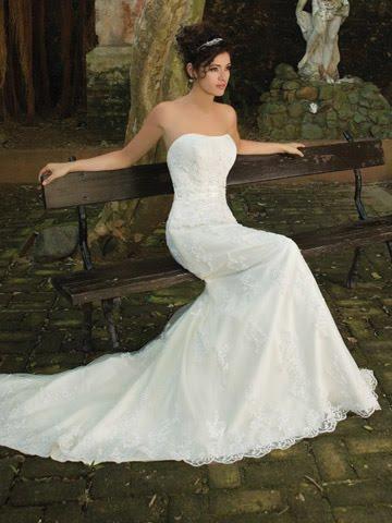 elegant wedding dress design