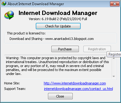 Internet Download Manager (IDM) v6.19 Build 2 with Patch