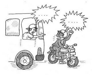 Cara Para Alay Mengendarai Motor