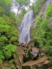 Rainbow Falls Adirondacks