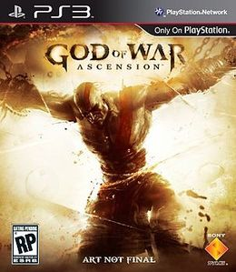 God of War Ascension full cover art