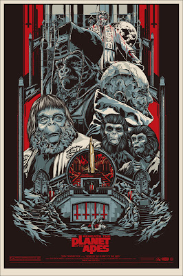 Mondo x Sideshow Collectible Planet of the Apes Screen Print Series - Beneath the Planet of the Apes by Ken Taylor