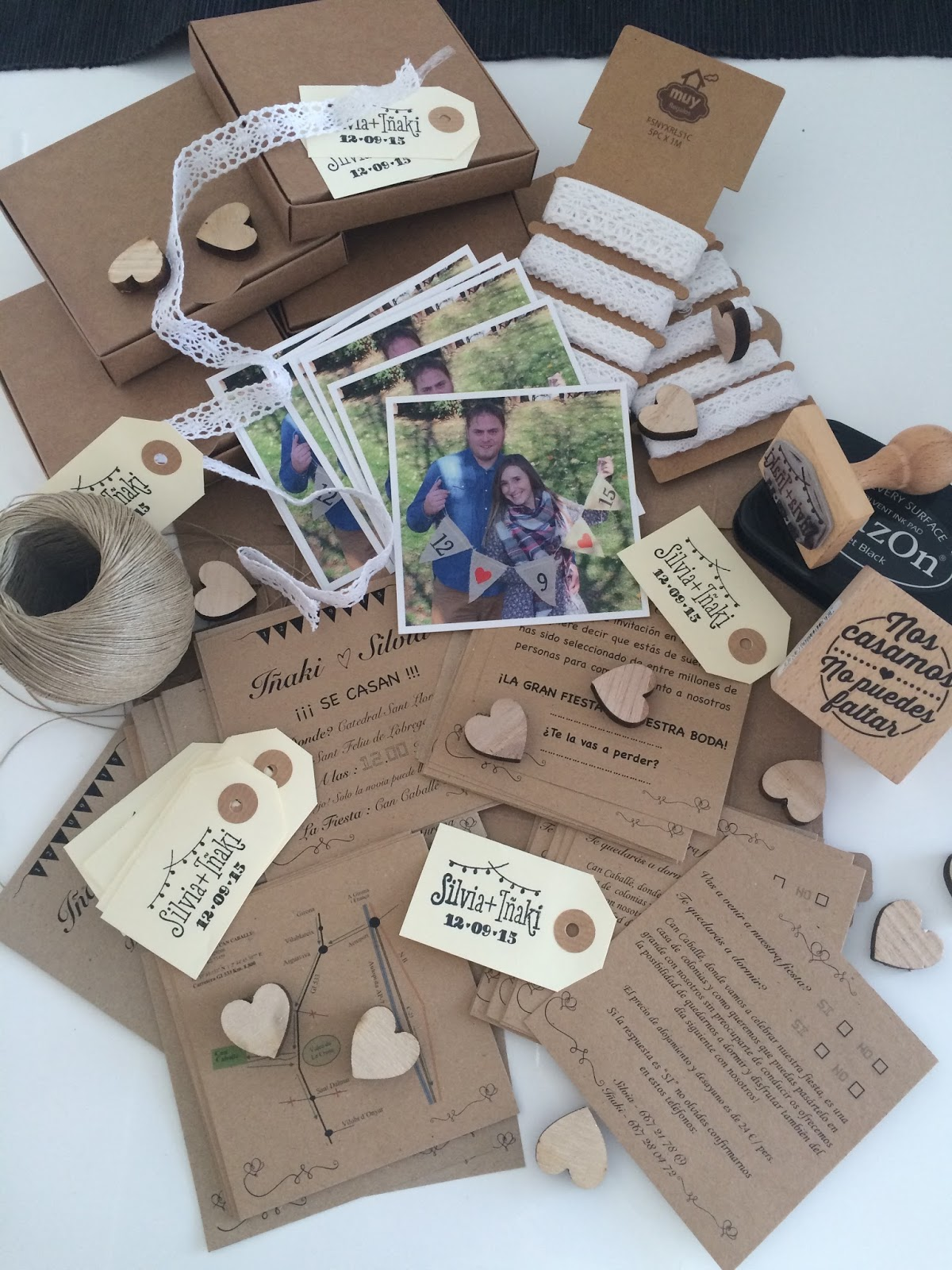 Como hacer tarjetas de matrimonio a mano invitaciones de - Como hacer tarjetas de boda ...
