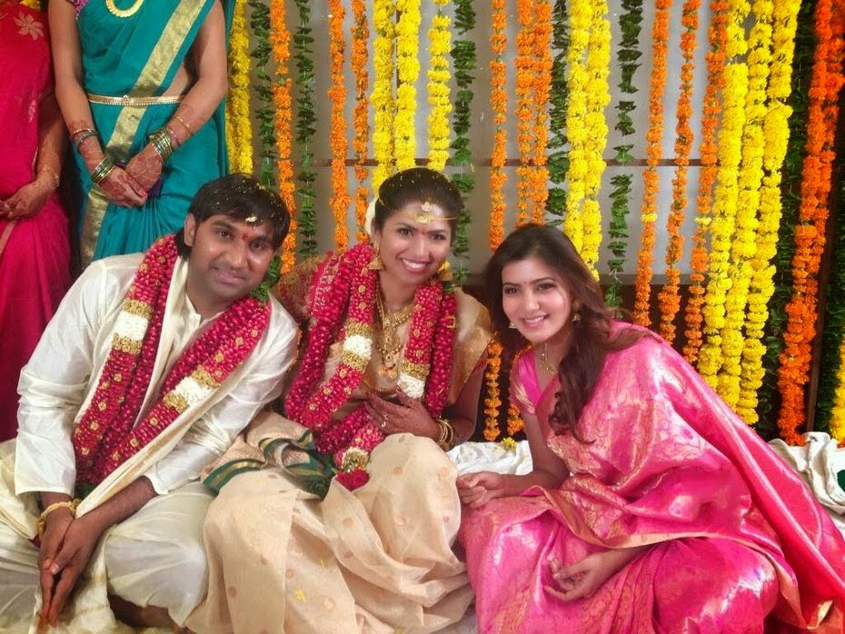 Samantha At Kona Neeraja Wedding