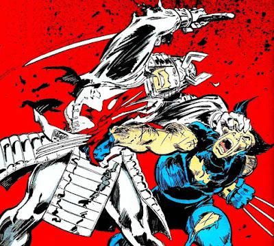 Wolverine Silver Samurai