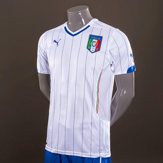 Jakarta Jersey Italy Away World Cup 2014