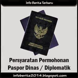 Pembuatan Paspor Dinas / Diplomatik Baru