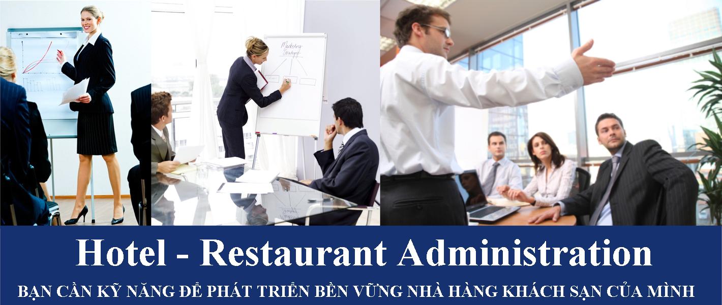 Khóa học quản lý khách sạn nhà hàng ngắn hạn