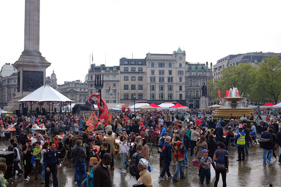 Feast of St George Trafalgar Square 2014