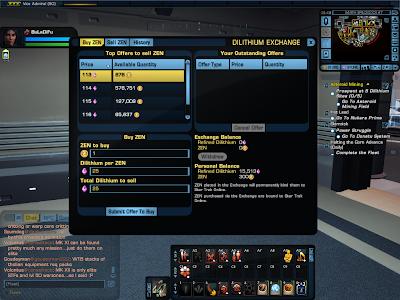 Star Trek Online - Dilithium Exchange