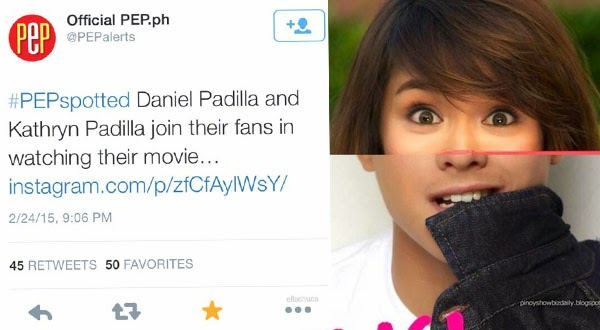 Kathryn Padilla trends worlwide on Twitter