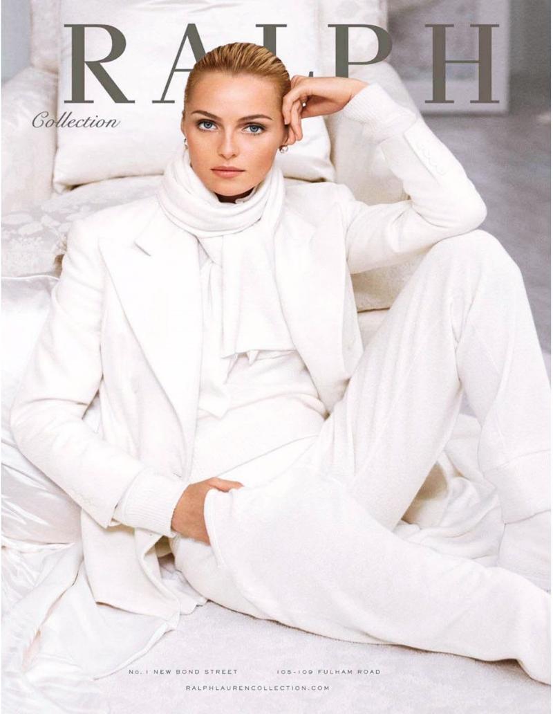 Ralph Lauren Collection Womenswear Fall/Winter 2014/15 Campaign | Designer - Ralph Lauren | Model - Andreea Diaconu / Anna Selezneva