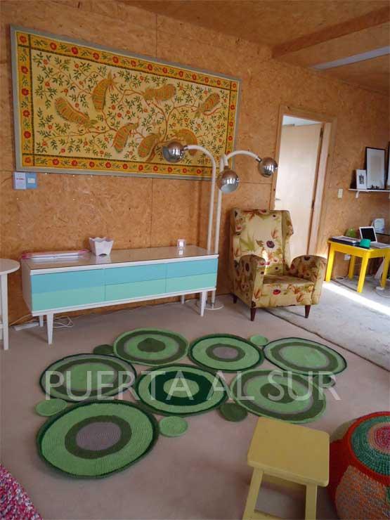 Puerta al sur verde que te quiero verde alfombras - Alfombras de casa ...