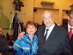 MAURA E OSVALDO MELO- JULHO 2010- CÂMARA DE VEREADORES