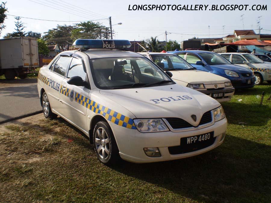 Proton Waja Patrol Car