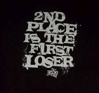 2nd place is the first loser No Fear shirt