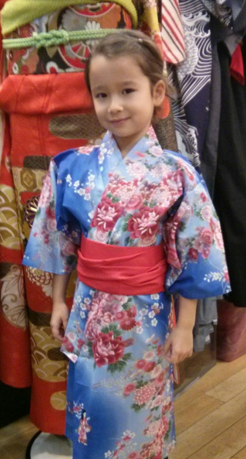 child in kimono from Kimono House NY